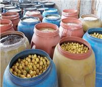 ضبط 120 طن «مخللات»  غير صالحة للاستخدام قبل بيعها للمواطنين