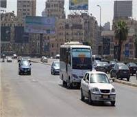 الحالة المرورية.. سيولة وانتظام حركة السيارات بالقاهرة والجيزة