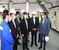 الملا: محطة دهشور ترفع قدرتها اليومية إلى 46 مليون متر مكعب غاز
