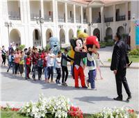 مكتبة الإسكندرية تحتفل بيوم اليتيم في قصر خديجة بحلوان