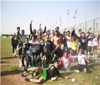 فريق الشباب لكرة القدم بنادي الزمالك بطلا للجمهورية