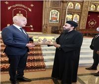 الرئيس التونسي يزور كاتدرائية ميلاد المسيح