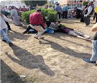 إصابة ٢٩ شخصا في ٣ حوادث بطرق الشرقية