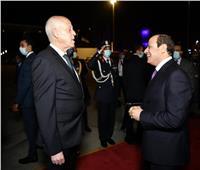 السيسي: زيارة الرئيس التونسي أكدت عمق المودة والأخوة بين البلدين
