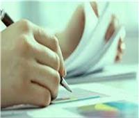 طلاب الصف الثالث الإعدادي يؤدون ثاني أيام الامتحان التكميلي