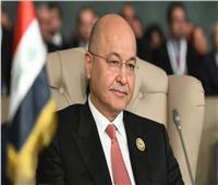 برهم صالح: لا بديل عن تعزيز سيادة القانون والحفاظ على أمن العراق