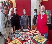ختام ملتقى فنون وثقافة المرأة ببورسعيد