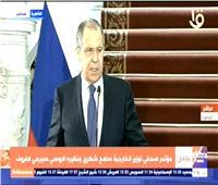 سيرجي لافروف: العلاقات المصرية الروسية تشهد تطورا كبيرا