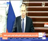 لافروف: ندعم الحل الذي يضمن مصالح الدول الثلاث في سد النهضة