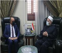 مفتي الجمهورية يستقبل السفير الأردني  لبحث تعزيز التعاون