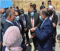 3 وزراء يفتتحون المحطة الوسطية لنقل المخلفات بالمقطم