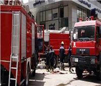 إخماد حريق بأحد المخابز بمدينة المنصورة