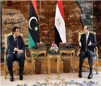 السيسي يهنئ رئيس المجلس الرئاسي الليبي بحلول رمضان