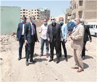 محافظ بني سويف يتفقد سوق ترعة البوصة و شارع الجيش