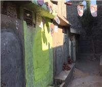 مقبرة الطفلة «ريماس» ضحية حداد دكرنس تتزيين باللون الأخضر وفانوس رمضان