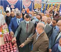 محافظ البحيرة يفتتح معرض أهلا رمضان للسلع الغذائية والرمضانية بأبوحمص