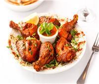 مطبخ رمضان  طريقة عمل دجاج تندوري بدون فرن