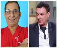 وصول عباس أبو الحسن أولى جلسات محاكمة طبيب الأسنان المتحرش به