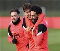 «ضحك ولعب» في مران ليفربول الأخير استعدادا لمواجهة ريال مدريد| صور