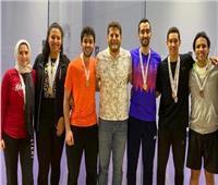 جامعة طنطا تفوز بالمركز الأول لبطولة الجامعات للإسكواش