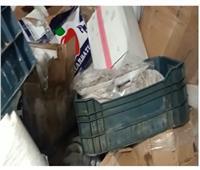 إحباط ترويج 20 طن أغذية فاسدة في حملة لشرطة التموين