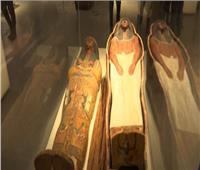 حفظ  المومياوات الملكية  فى فتارين متحف الحضارة محاطة بغاز النتروجين| فيديو