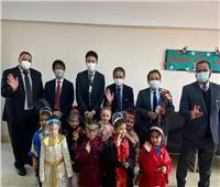 مدير جايكا الشرق الأوسط وأوروبا يشيد بجهود الحكومة في تطوير التعليم