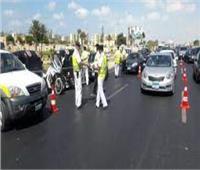 مرور القليوبية يواصل حملاته لضبط السيارات الملوثة للبيئة