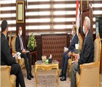 شعراوي يبحث مع سفير الهند الجديد مجالات التعاون المستقبلية بين الجانبين