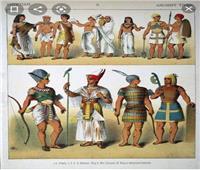 ملابس و أزياء طبقات المجتمع المصري القديم   صور