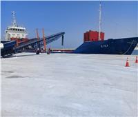 اقتصادية قناة السويس: شحن 6 آلاف طن صودا كاوية من ميناء غرب بورسعيد