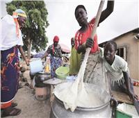 «الأوغندى» يضرب زوجته على رأسها فتقوم بإعداد الإفطار