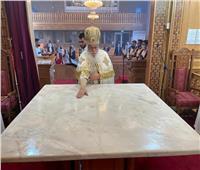 تدشين كنيسة الملاك والأنبا أنطونيوس فى «هولندا»