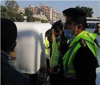 تحرير 895محضر لعدم الالتزام بارتداء «الكمامات» بالجيزة