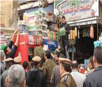 ضبط 96 مخالفة تموينية خلال 24 ساعة في الجيزة