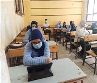 «الجيار» يتابع الامتحان التجريبي لطلاب الثانوية العامة بمدارس الجيزة