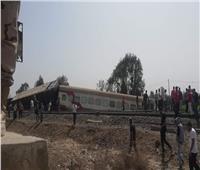 نائب رئيس مدينة طوخ: انقلاب ٤ عربات من القطار وهناك مصابين