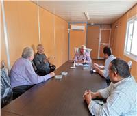اجتماع تنسيقى بمياه المنوفية  لمناقشة آليات تنفيذ مبادرة حياه كريمة