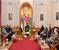 البابا تواضروس يستقبل رئيس جامعة الزقازيق