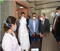 محافظ المنيا يتابع جاهزية مستشفى سمالوط لاستقبال حالات كورونا