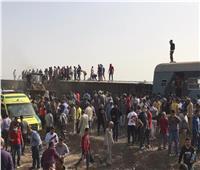 ننشر أسماء مصابي حادث قطار طوخ في القليوبية |مستندات