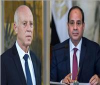 الرئيس السيسي يتلقى اتصالا هاتفياً من نظيره التونسي