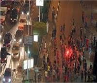 مشاجرة بين مشجعي الأهلي والزمالك في الإسكندرية