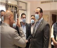 «رئيس الرعاية الصحية» يتفقد المقر الجديد للهيئة بالعاصمة الإدارية