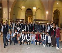 المتحف المصري الكبير يستقبل المقصورة الثالثة للملك الذهبي توت عنخ آمون
