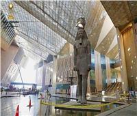 المتحف المصري الكبير يستقبل المقصورة الثالثة للفرعون الذهبي