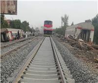 بعد تجديد القضبان.. انتظام حركة القطارات على خطي الإسكندرية والصعيد