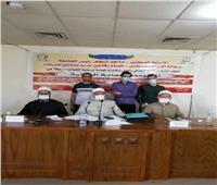 «طب حلوان» يحصد المركز الأول في مسابقة المعلومات العامة الدينية