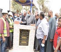 تكلفتها 240 مليون جنيه.. محافظ أسيوط يضع حجر أساس مشروع للصرف الصحي بديروط