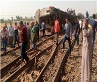 خروج 53 مصابا في حادث قطار طوخ من مستشفيات طوخ وبنها الجامعي